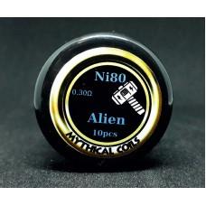 Έτοιμες αντιστασεις Alien Ni80  by Mythical Coils
