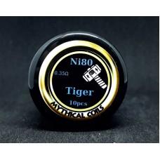 Έτοιμες αντιστασεις Tiger Ni80  by Mythical Coil