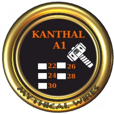Σύρμα Kanthal 26GA (0.40 mm)  Mythical Wires 10m