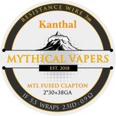 Σύρμα MTL Fused Clapton Kanthal Mythical Vapers  3m
