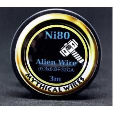 Σύρμα Alien Ni80 By Mythical Vapers 3m  (Nichrome)