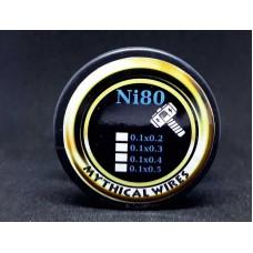 Σύρμα Flat ribbon Ni80 Mythical Wires  10m (Nichrome)
