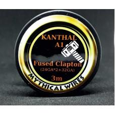 Σύρμα  Fused Clapton KANTHAL A1  Mythical Wires  3m