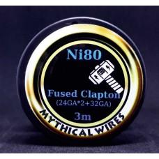 Σύρμα  Fused Clapton Ni80  Mythical Wires  3m  (Nichrome)